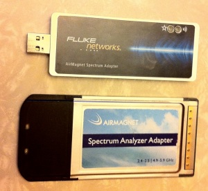 Spectrum Analyzer CardBus with Spectrum XT USB