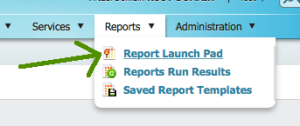 Report Launch Pad