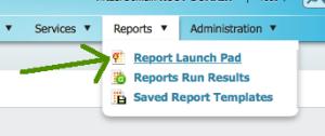 Report Launch Pad