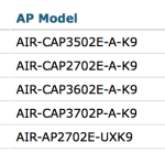 Note the UX domain model of AP, last in the list.